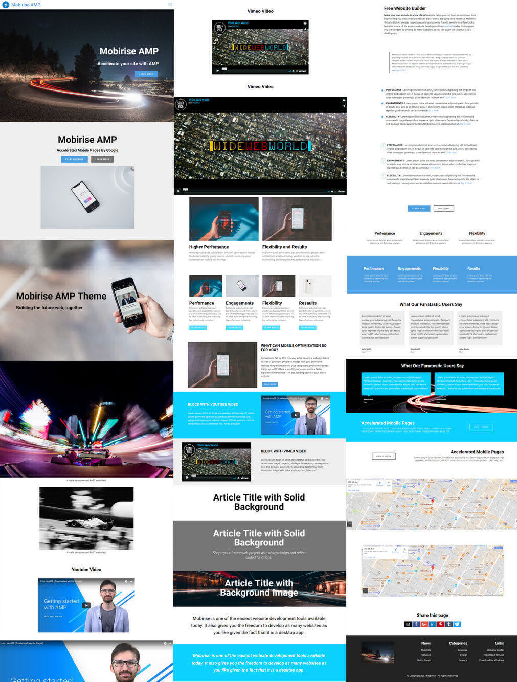 Mobile Website Creator
